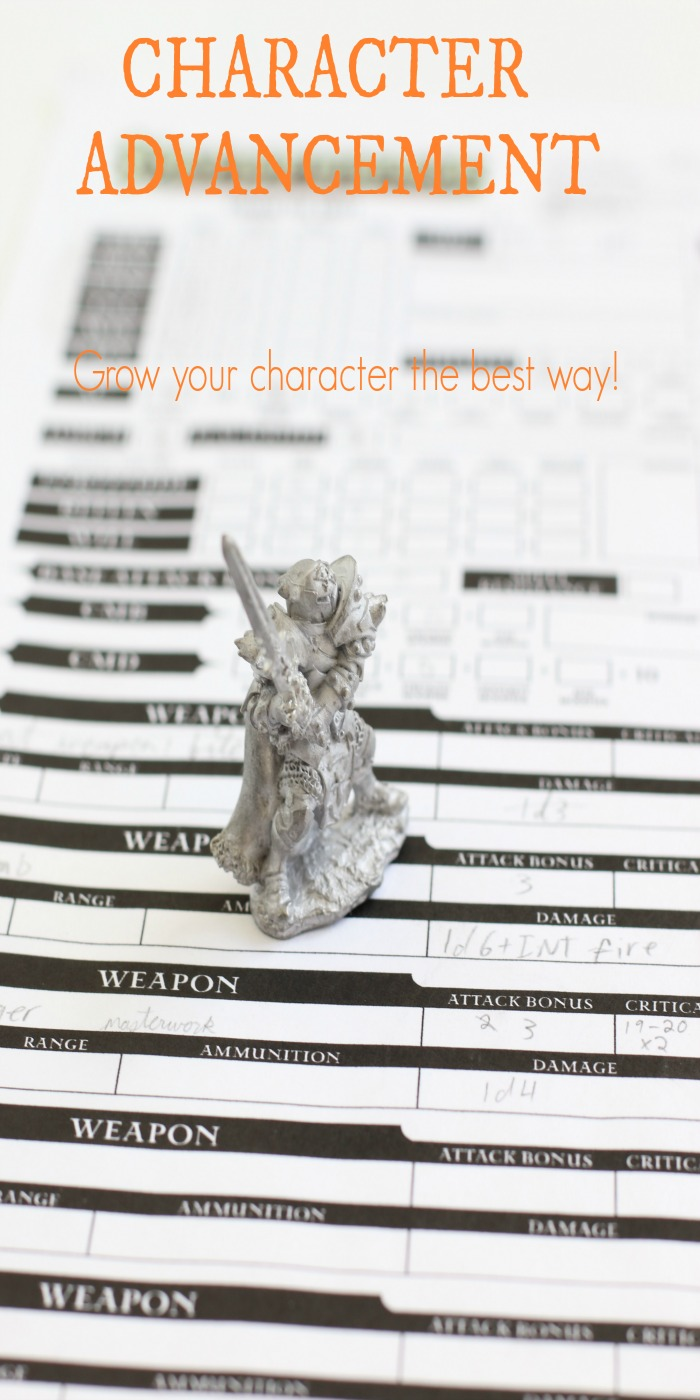 Learn how to grow your characters in a realistic and fun way.