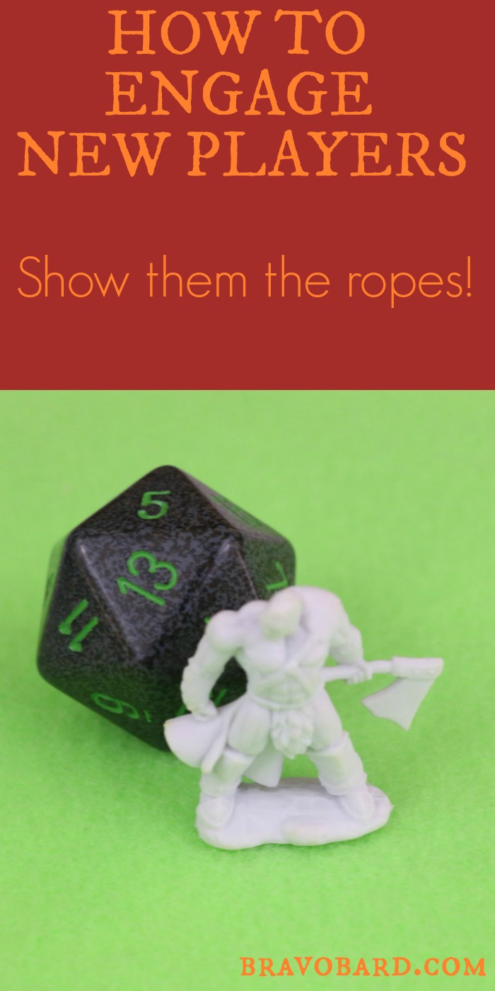 Help your newer players explore the world of tabletop role playing!