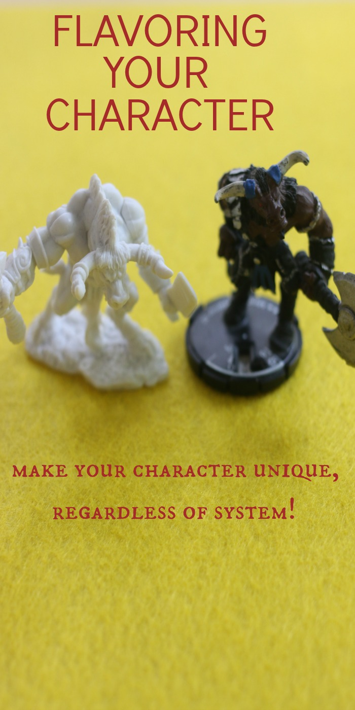 Make your characters exactly how you want without messing with the game's rules!